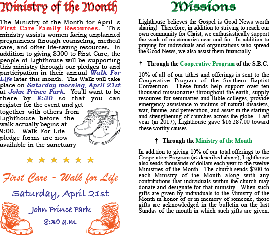 Ministry of the Month Template for Website - 2016 copy