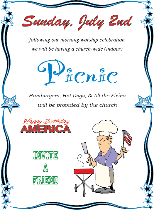 Patriotic Picnic Poster - WEBSITE copy