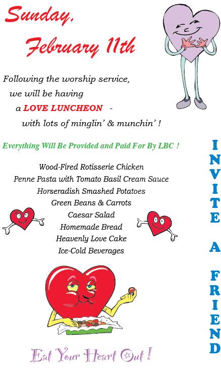 WEBSITE - Love Luncheon Poster